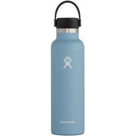 Hydro Flask Standard Mouth Drinkfles met standaard Flex Cap 621ml, rain